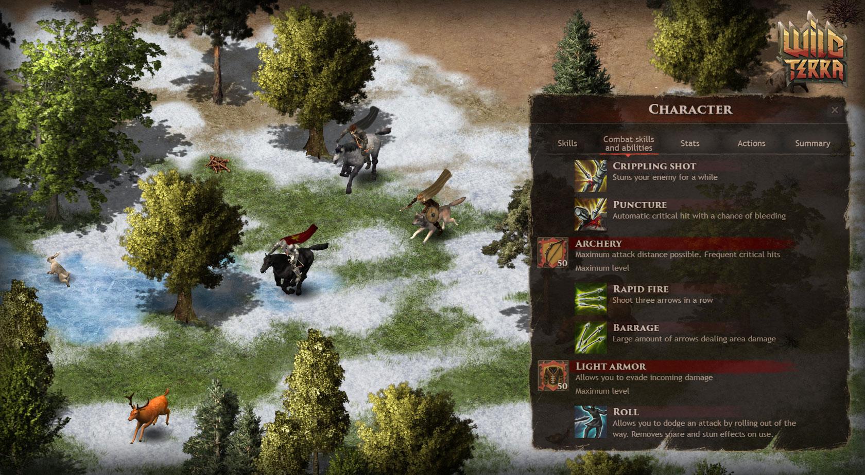 Wild Terra Online - Sandbox Survival MMORPG, with open world